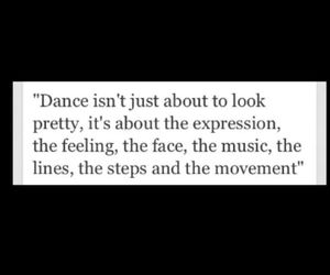 quote and dance image