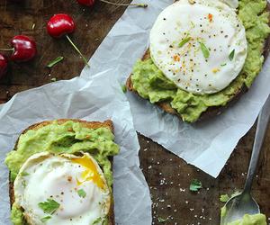 avocado, eggs, and breakfast image