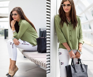 fashion blogger, outfit, and look image