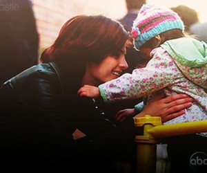 stana katic, castle, and child image