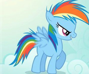 MLP, my little pony, and rainbowdash image