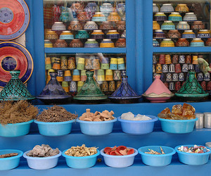blue, colorful, and exotic image
