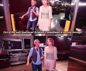 Taylor Swift, funny, and ellen image