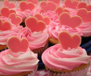 confectionery, pink, and love image