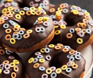 chocolate, confectionery, and donuts image