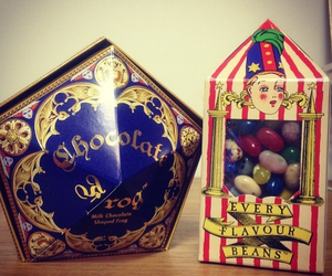 candy, harry potter, and hogwarts image