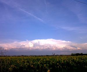 cloud, sky, and summer image