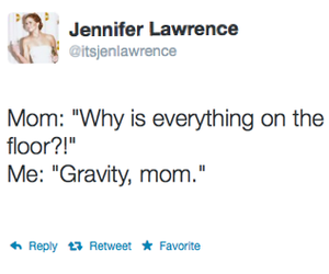 mom, gravity, and funny image