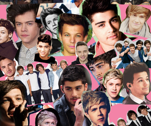 Collage, liam payne, and one direction image