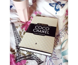 book, chanel, and classy image