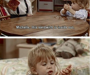 full house, funny, and michelle image