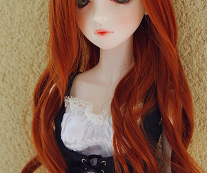 ball jointed doll, bjd, and carrot image