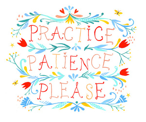 patience, quote, and text image