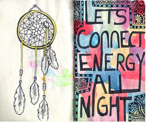 dream catcher, love, and quote image