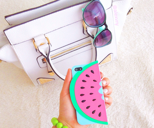 bag, fashion, and phone image