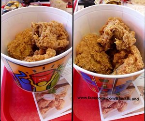 american, Chicken, and fast food image
