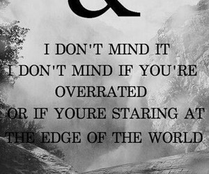 bands, black and white, and Lyrics image