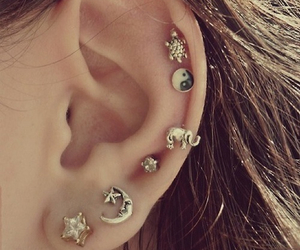 earring, fashion, and cute image
