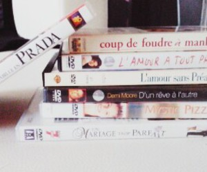 dvds, movies, and romantic image