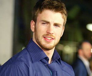 actor, chris evans, and funny face image