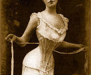 1800s, corset, and vintage image