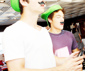 teen wolf, dylan o'brien, and luigi image