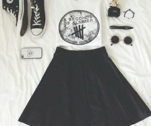 bands, outfit, and vintage image
