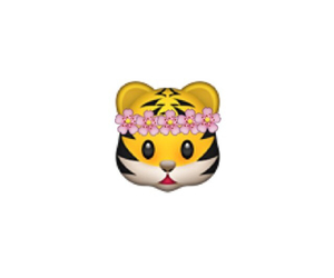 flowers, animal, and emoticon image