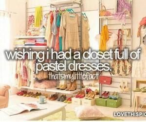 dress, closet, and fashion image