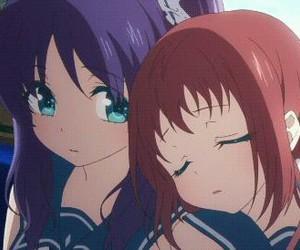 best friends, kawaii, and nagi no asukara image