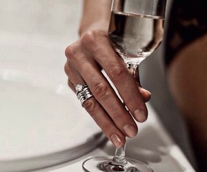 champagne and ring image