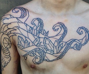 art, Tattoos, and ink image