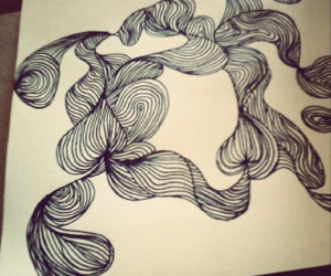 draw, drawing, and lines image