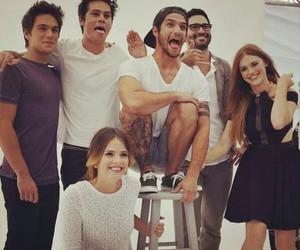 cast, comic con, and teen wolf image