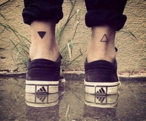tattoo and adidas image