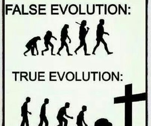 evolution, god, and love image