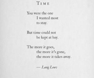 Lang Leav, poem, and poetry image