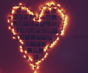 heart, light, and love image
