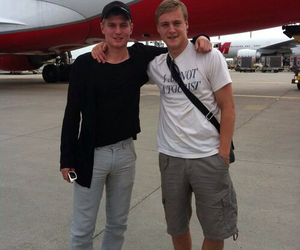 handsome, toni kroos, and felix kroos image