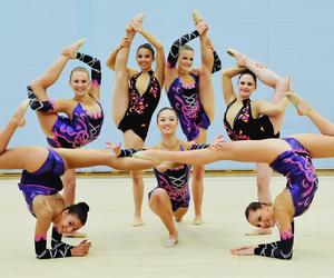 girl, awesome, and gymnastic image