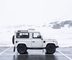 white, car, and black image