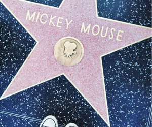 hollywood, los angeles, and micky mouse image