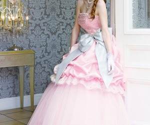 baby pink, fairy tale, and girl image