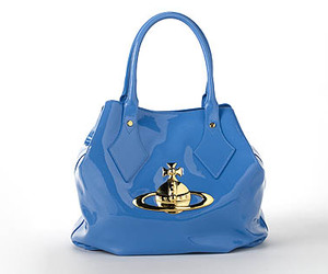 bag, blue, and designer image