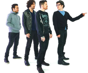 fall out boy, FOB, and overlay image