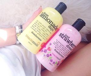girly, lemonade, and pink image