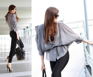 blouse, fahsion, and girl image