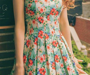 dress, girl, and nice image