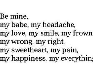 I Love You, words, and be mine image