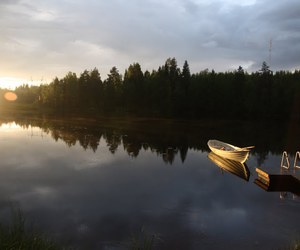 boat, finland, and summer image